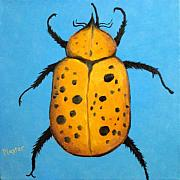 Beedles - John Art Greeting Card by NC Artist Scott Plaster