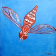Fly East Art Greeting Card by NC Artist Scott Plaster