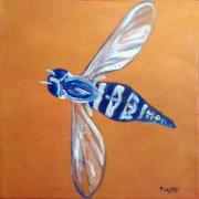 Fly West Art Greeting Card by NC Artist Scott Plaster